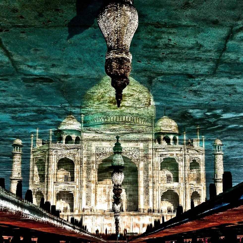 Taj in Reflection